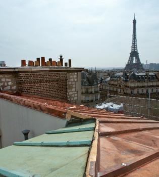Notre savoir-faire en rénovation de couverture en cuivre